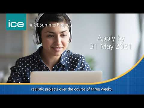 Opportunities for ICE student members in its summer project