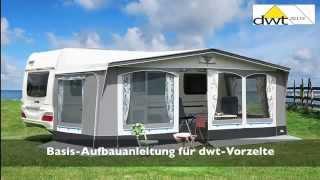 dwt zelte  Basis Aufbauanleitung für dwt Vorzelte  - www.camping-factory.com