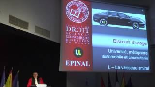 preview picture of video '13ème Cérémonie du Tableau d'Honneur de la Faculté Droit Epinal'
