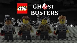 LEGO Ghostbusters Music Video GB Theme Song Walk The Moon Most - Lego minecraft hauser