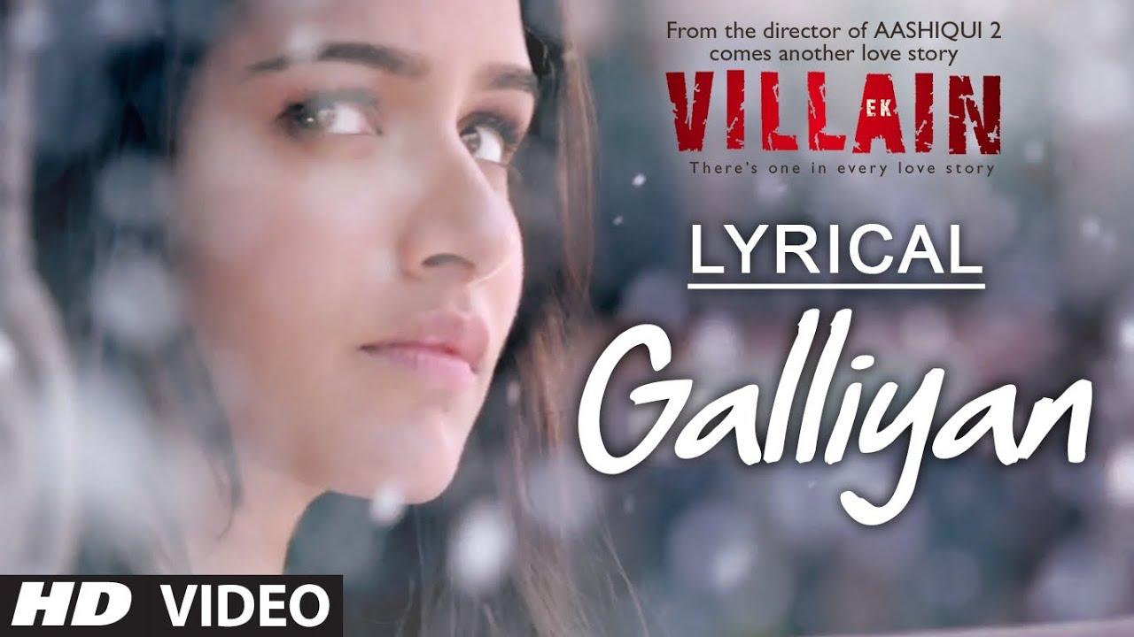 Teri Galliyan Lyrics in Hindi - Ankit Tiwari Lyrics