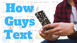 How Guys Text When They Like You (10 Signs)