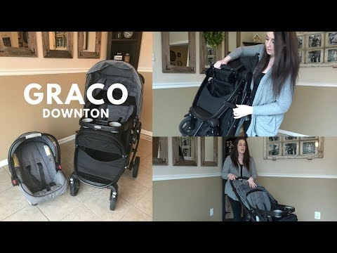 GRACO DOWNTON | GRACO MODES CLICK CONNECT TRAVEL SYSTEM STROLLER| HONEST REVIEW!