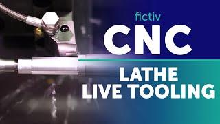 CNC Lathe – Live Tooling