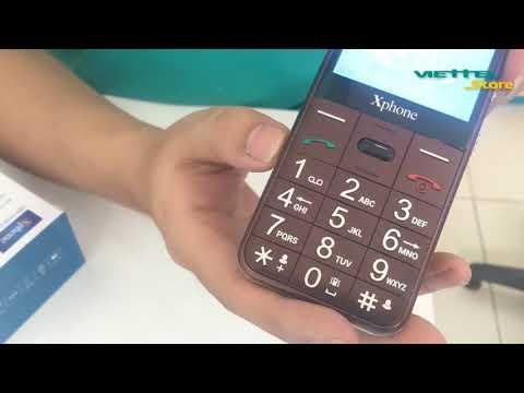 Viettel Store   Mở hộp giới thiệu điện thoại X22 giành cho người già