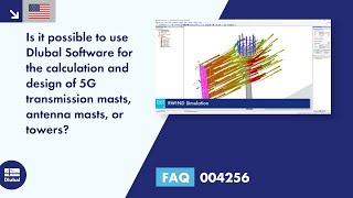 FAQ 004256 | Is it possible to use Dlubal Software for the calculation and design of 5G transmission masts, antenna masts, or towers?