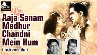 Aaja Sanam Madhur Chandni Mein Hum Instrumental - Manna Dey & Lata Mangeshkar - Old Hindi Songs