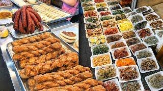 STREET FOOD at Traditional Korean Market in Seoul