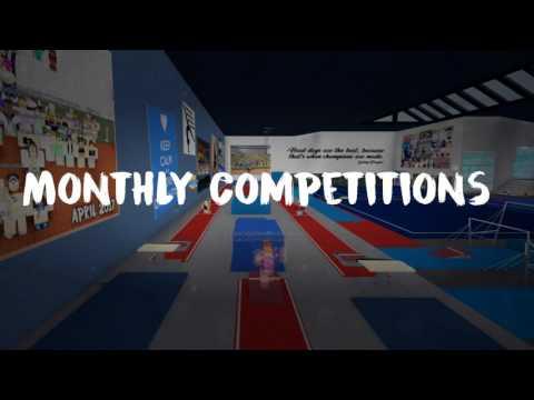 Roblox Gymnastics Game - Gymnastics Gymnasium Roblox