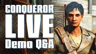 Conqueror Livestream plus Q and A