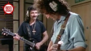 Brian May & Tony Iommi Recording Together