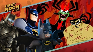 Up At Noon - The Best Batman Movie, Samurai Jack & Netflix's Castlevania Show - Up At Noon Live!