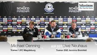 FCM nach Spiel in Bielefeld