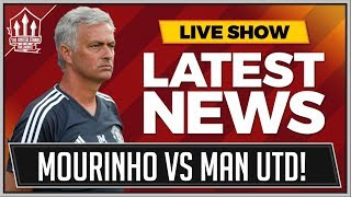 Mourinho vs Man Utd Board Drama! Man Utd News Now
