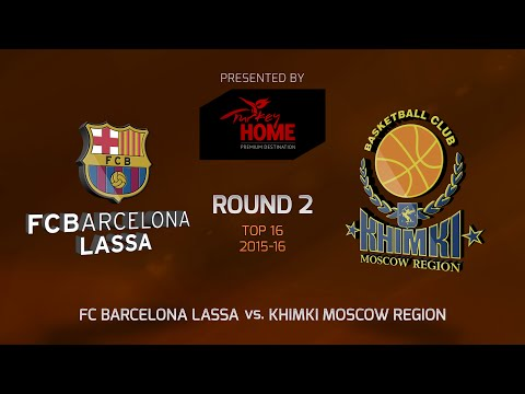 Highlights: Top 16, Round 2, FC Barcelona Lassa 87-70 Khimki Moscow Region