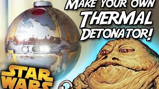 Star Wars Thermal Detonator Hot Potato Game to neat Prop Replica! Disney Toy