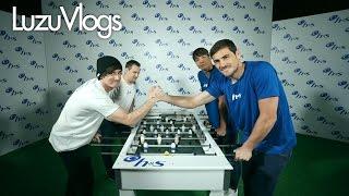 NUEVO VIDEO El RetoHyS junto a Iker Casillas Oliver Torres y byAbeeL