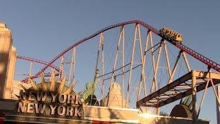 The Big Apple Coaster Review New York New York Hotel Las Vegas