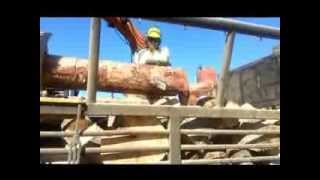 preview picture of video 'Topcut Firewood Part 2 Cutting & Splitting - Ron E Bishop Timaru NZ'