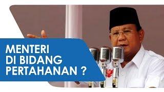 Seusai Bertemu Jokowi, Prabowo Subianto jadi Menteri Pertahanan?