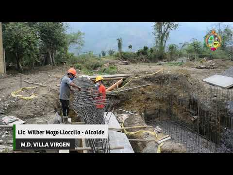 CONSTRUCCIÓN DEL PONTÓN EN LA AV. TAHUANTINSUYO