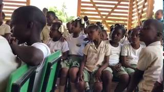 21 Janvier 2019,  Inauguration de l'école de Santo