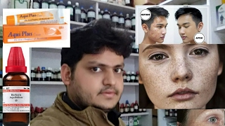 how to remove marks from face with in 7 days by homeopathic medicine?? explain!