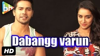 Varun Dhawan | Shraddha Kapoor's Fun Interview On 'ABCD - Any Body Can Dance - 2'
