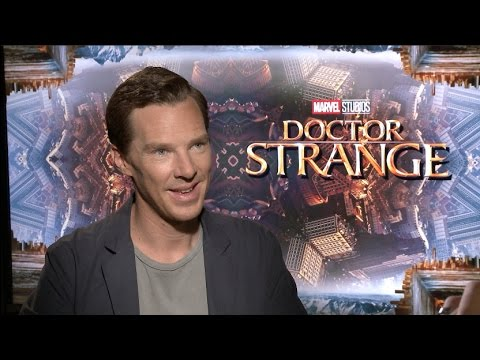 "Benedict Cumberbatch Interview for ""Doctor Strange"" & Movie Review"
