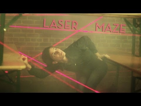 Navigating A Maze Of Real Lasers Is Harder Than You'd Think