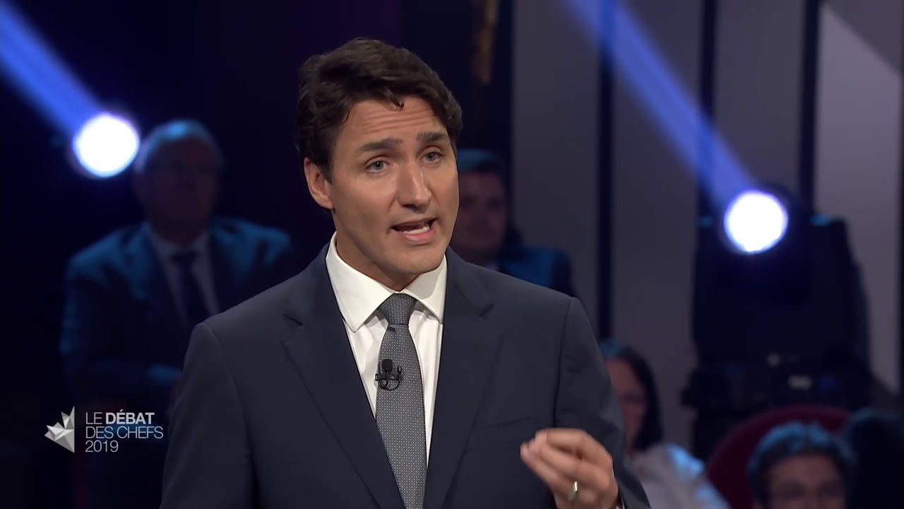 Justin Trudeau answers a question about concerns over illegal migrant crossings