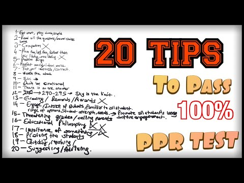 PPR Texes Test Tips - 100% Works - EC-12 Practice Test (160 ...