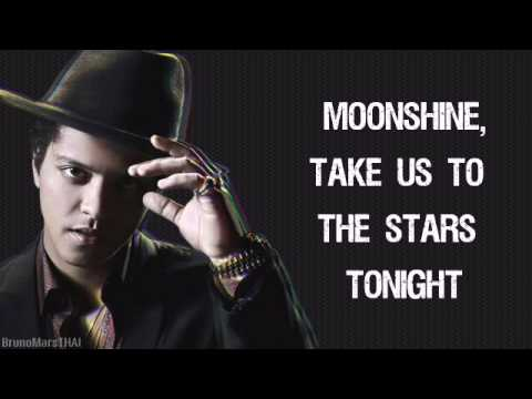 Bruno Mars - Moonshine  (Lyrics)