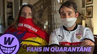 Fans in Quarantäne