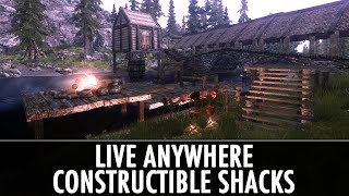 Skyrim Mod: Live Anywhere - Constructible Shacks