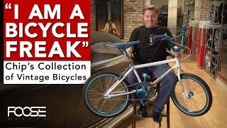 Chip Fooses Rare Vintage Bicycle Collection