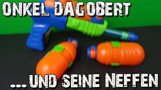 """""""ONKEL DAGOBERT & SEINE NEFFEN"""" -Wie gut ist die Wasserpistole ?"""