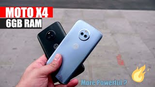 Motorola Moto X4 With 6GB RAM Hands On First Look