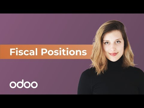 Fiscal Positions | odoo Invoicing