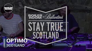 Optimo - Live @ Boiler Room & Ballantine's Stay True Scotland
