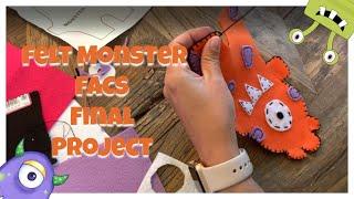 FACS: How To Make Your Own Felt Monster