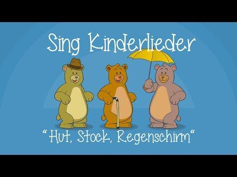 Ein Hut, ein Stock, ein Regenschirm - Kinderlieder zum Mitsingen   Bewegungslied   Sing Kinderlieder
