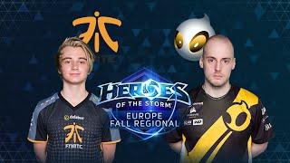 HOTS - Fnatic vs Team Dignitas - Game 1 - Grand-Final - Europe Fall Regional