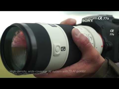Фотоаппарат Sony ILCA-77M2M kit видео 1