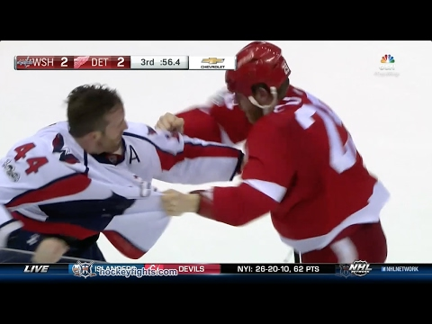 Steve Ott vs. Brooks Orpik