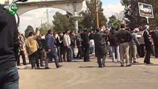 preview picture of video '#نوى لحظة اطلاق النار من قبل القوات الأسدية عند مدخل مدينة إزرع 22.04.2011'
