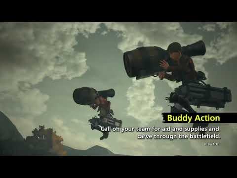 Видео № 1 из игры Attack on Titan 2 (A.O.T2) [PS4]