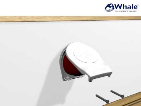 Whale Smartbail Manual Bilge Pump Installation Video