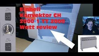 Einhell Konvektor CH 2000 1 TT 2000 Watt review