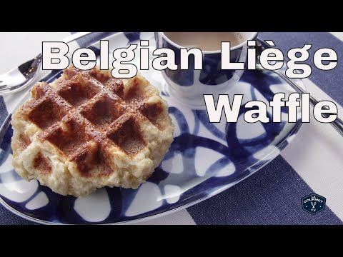 Traditional Belgian Liège Waffle Recipe – Le GourmetTV